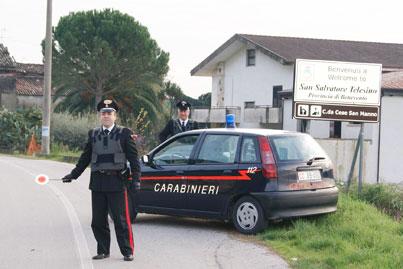 Controlli a tappeto dei Carabinieri nella Valle Telesina: identificate circa 80 persone