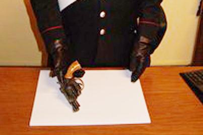 Sant'Agata de' Goti: nascondeva pistola sotto al materasso, denunciato